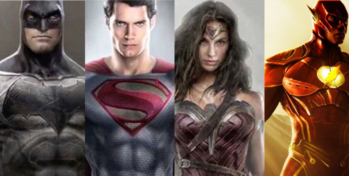 Costumes Galore: Concept Art Shows Off 'Batman V Superman' Outfits, New Design Details For 'The Flash' Suit