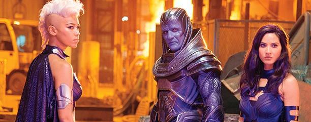 X-Men-Apocalypse-Storm-Alexndra-Shipp-Apocalypse-Oscar-Isaac-and-Psylocke-Olivia-Munn
