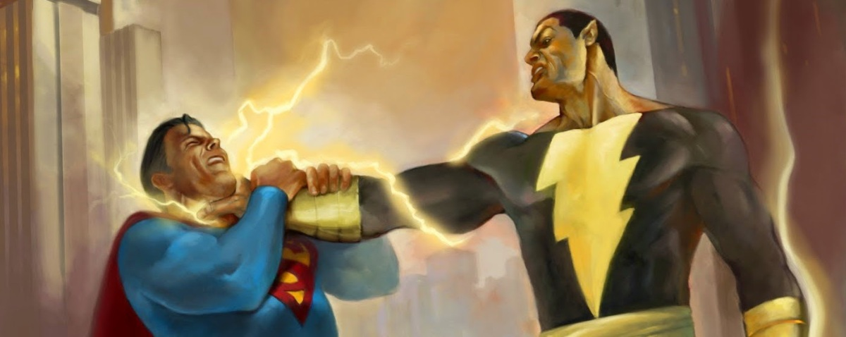 'Shazam!': Dwayne Johnson Teases Black Adam Vs Superman
