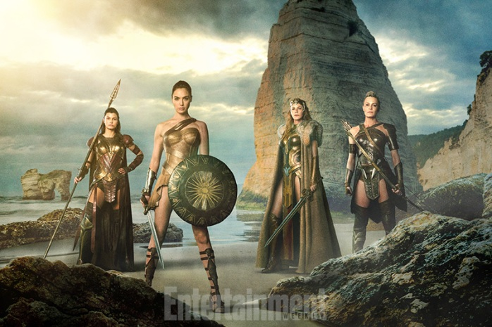 Wonder Woman Themyscira @EW
