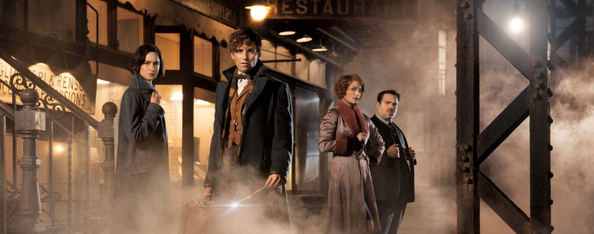 J.K. Rowling Announces Plans For 5 Movies After 'Fantastic Beasts'