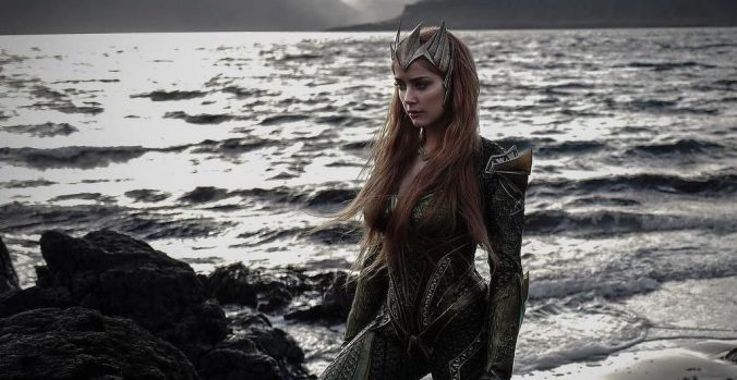 Amber Heard As Mera In Justice League, Courtesy @IGN