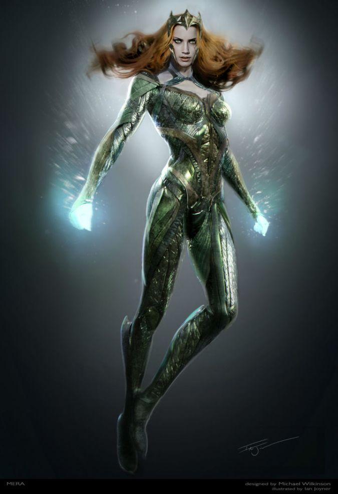 Mera Concept Art, Courtesy @IGN