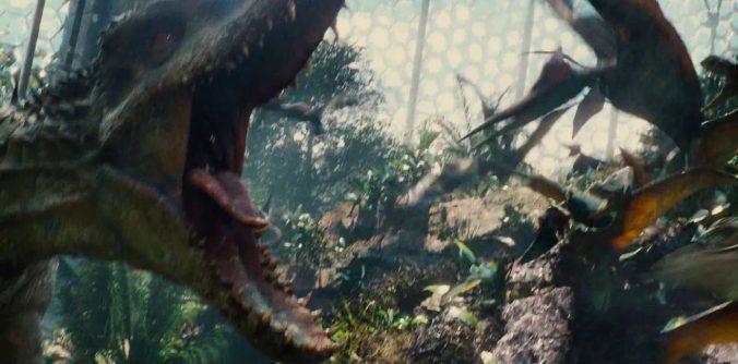 Jurassic World Indominus Rex @UniversalPictures
