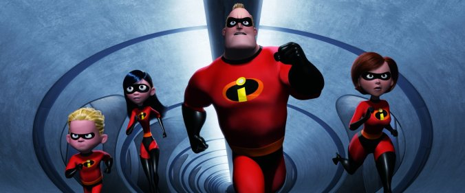 Incredibles image courtesy @DisneyStudios