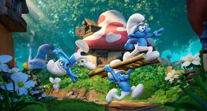 Smurfs: The Lost Village image courtesy @SonyPictures