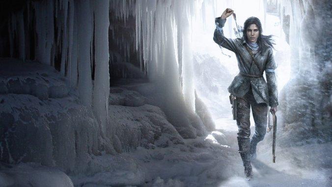 Rise Of The Tomb Raider image courtesy @CrystalDynamics
