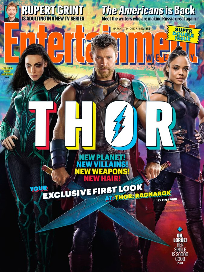 first-look-at-valkyrie-&-hela-in-thor-ragnarok image via @EW