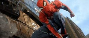 marvels spider man gameplay footage revealed at e3