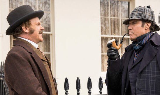 Here's A First Look At Will Ferrell & John C. Reilly As 'Holmes And Watson'