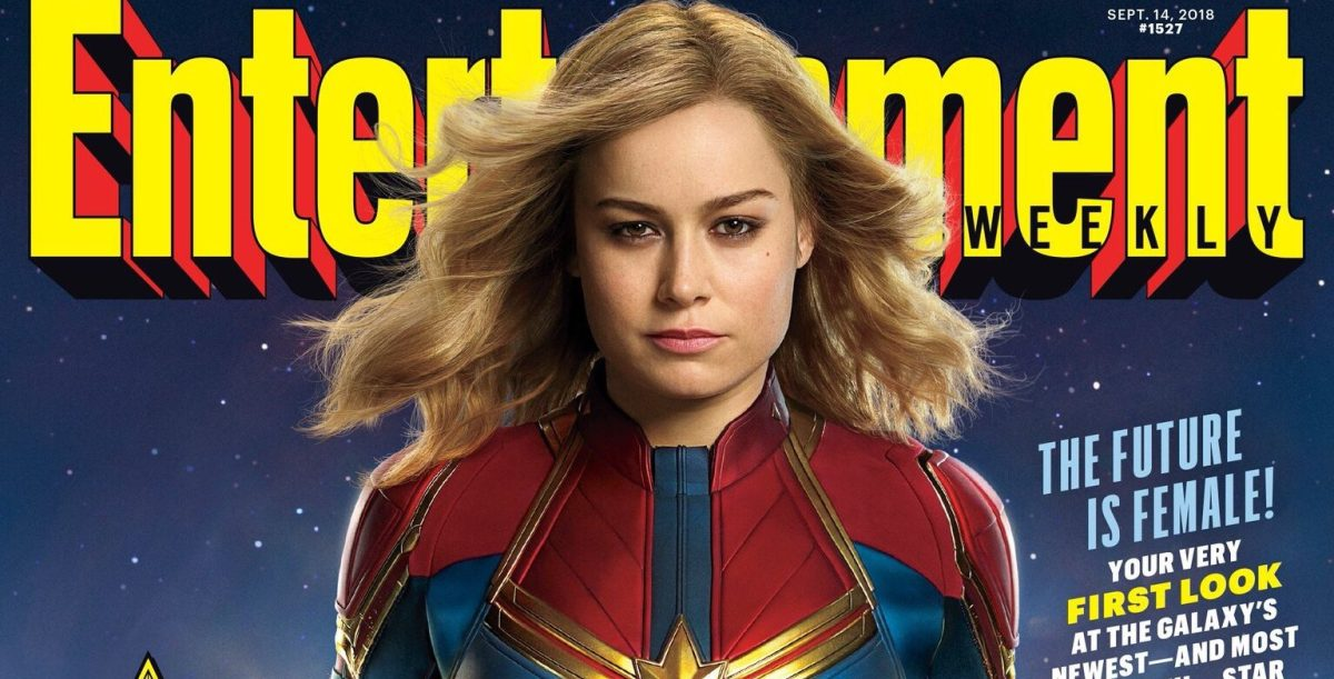 Here's A First Look At Brie Larson's 'Captain Marvel' In Full Costume